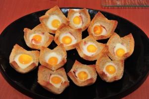 cosulete cu oua de prepelita