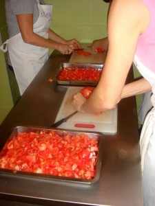 chopping rosi
