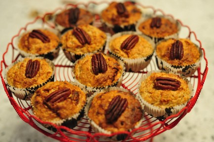 muffin dovleac nuca pecan foodie family