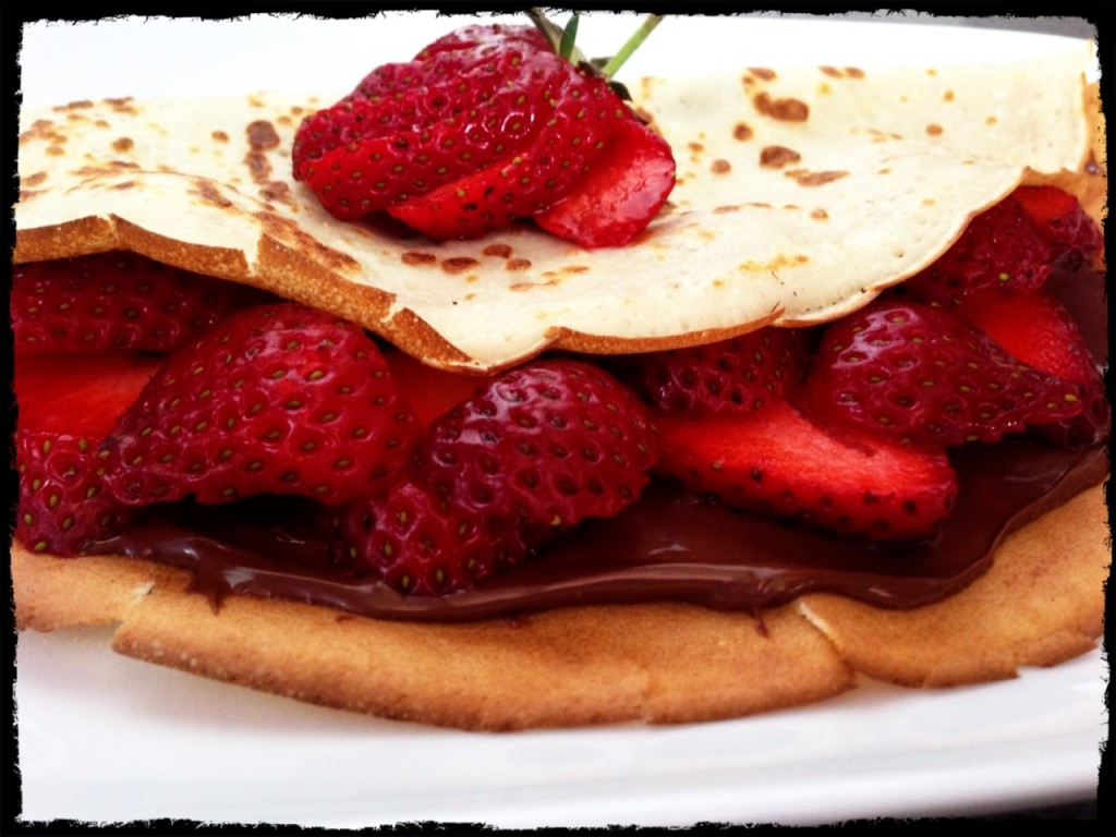 crepes Nutella foodiefamily