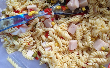 pasta salad foodie family
