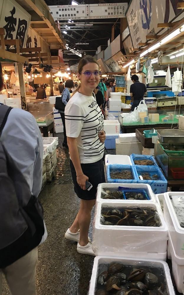 Tsukiji Market Foodie Family